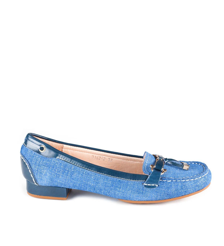 MOKASYNY FLO-3162-2 BLUE
