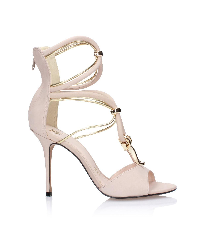 Cieliste sandały