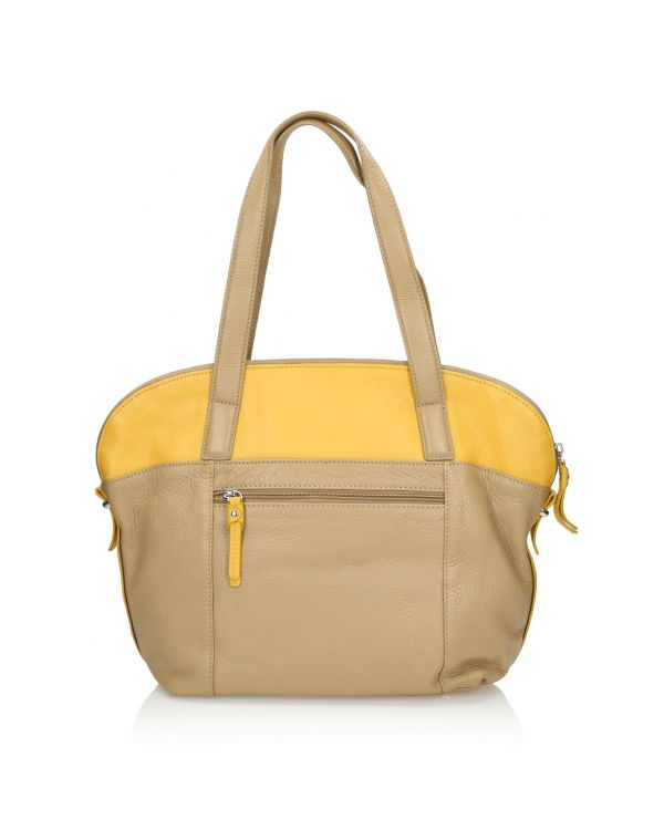 3i Beige and yellow bag - 05411 - 1