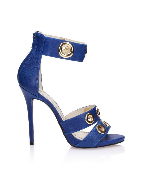Niebieskie sandały damskie 3i - 119042 Blue - 1