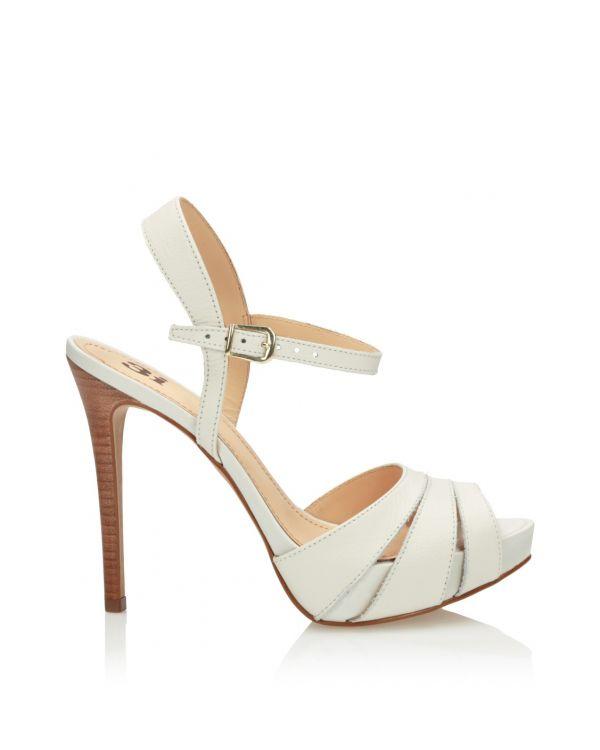 3i White sandals - 11563 - 1