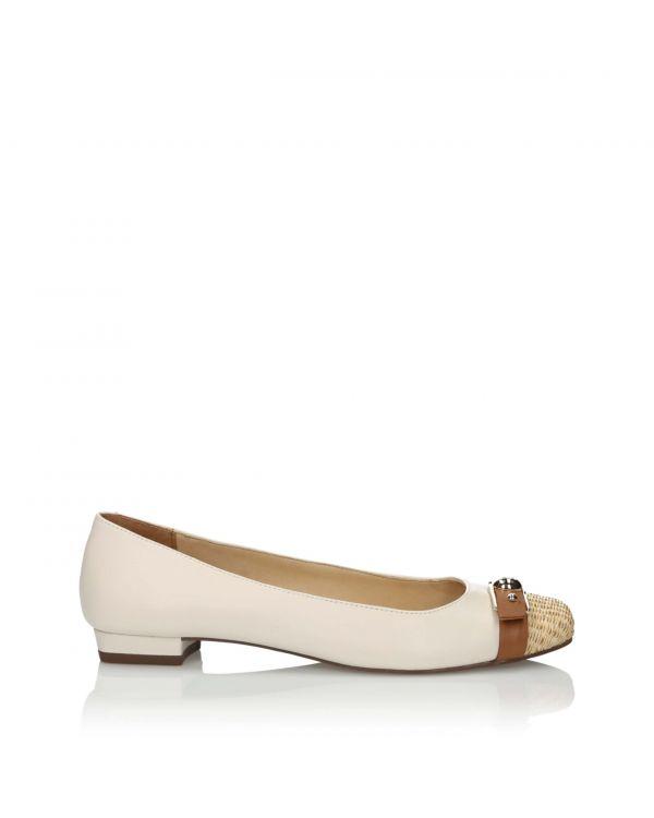 3i White ballerinas - 10723 Panna - 1