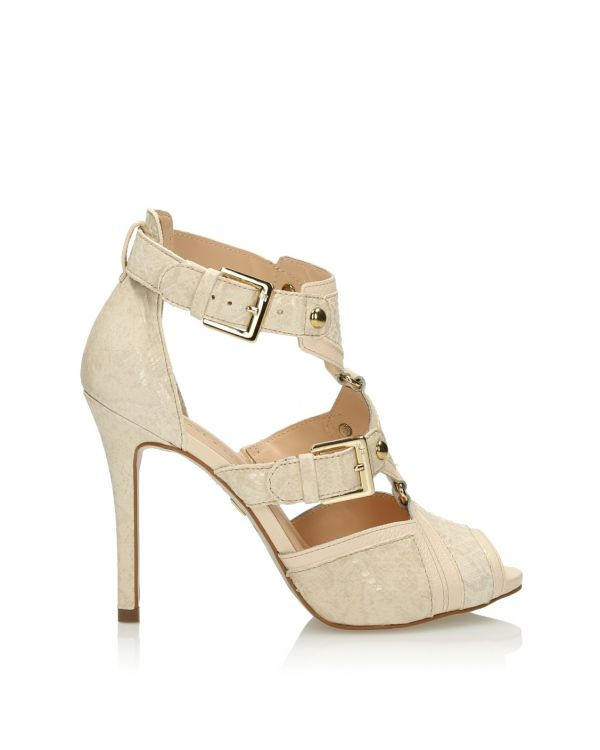 3i Nude high heeled sandals - 11397 - 1