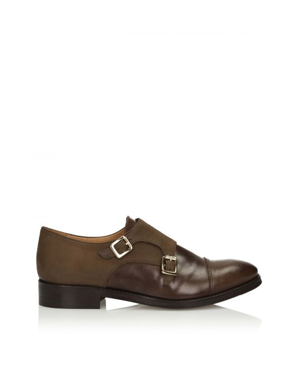 3i Brown monk shoes - 11248 - 1