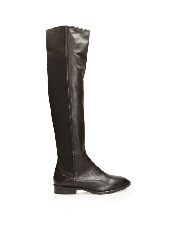 3i Dark brown Italian boots - 11368 - 1
