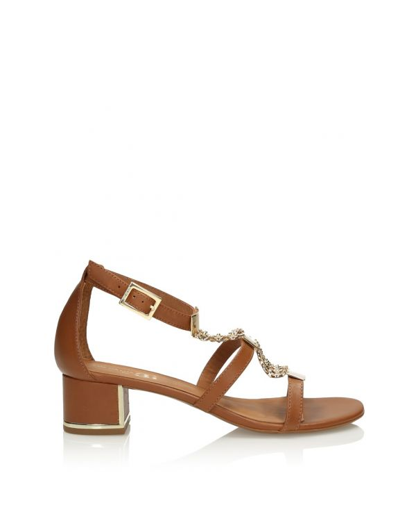 3i Brown women's sandals - 11394 - 1