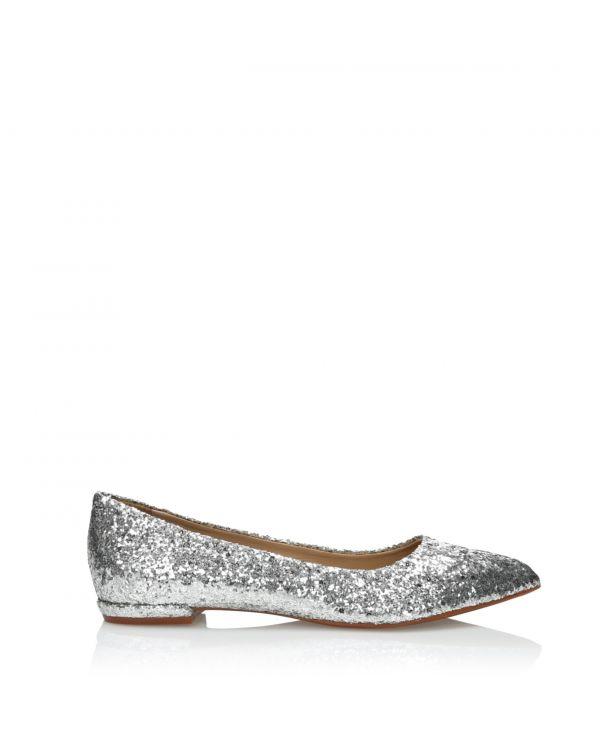 3i Silver ballerinas- 164280 Prata - 1