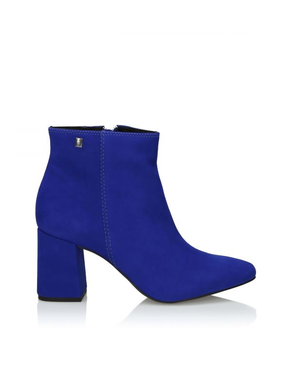 3i Blue Ankle Boots - 11008 Azul - 1