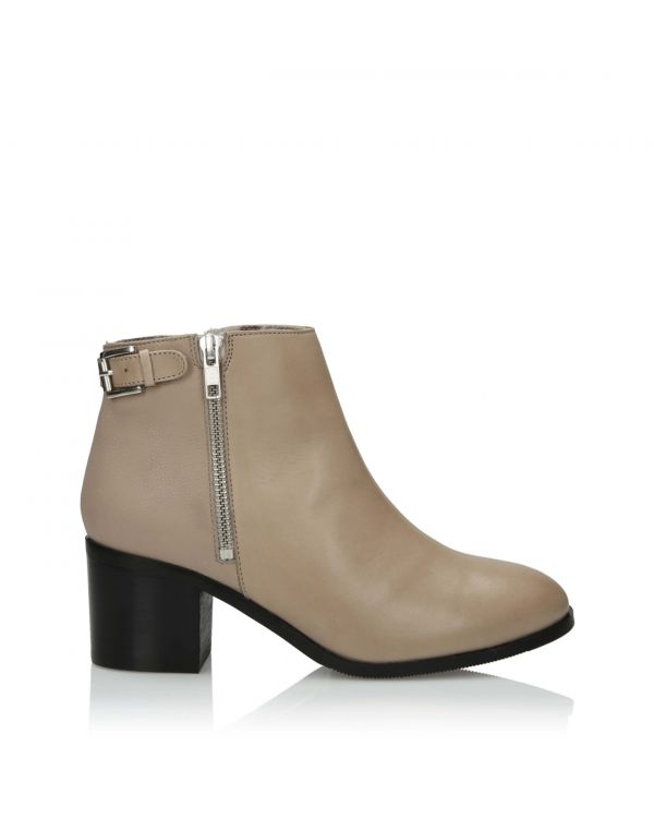 3i Nude Ankle Boots - 11104 - 1