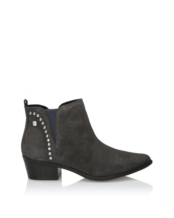 3i Dark grey Ankle Boots  - 11011 Grey - 1