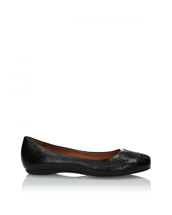 3i Black ballerinas - 10674 -1