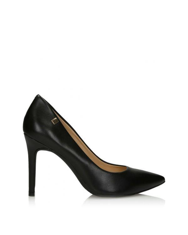 3i Black high heeled pumps - 11435 - 1