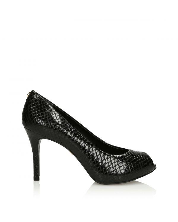 3i Black peep toe pumps - 11358 - 1