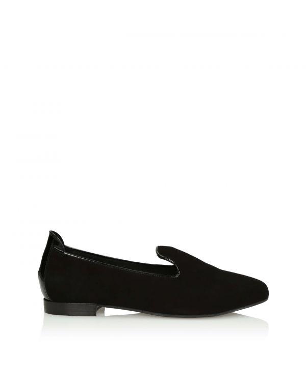 3i Black flat shoes - 11087 black - 1