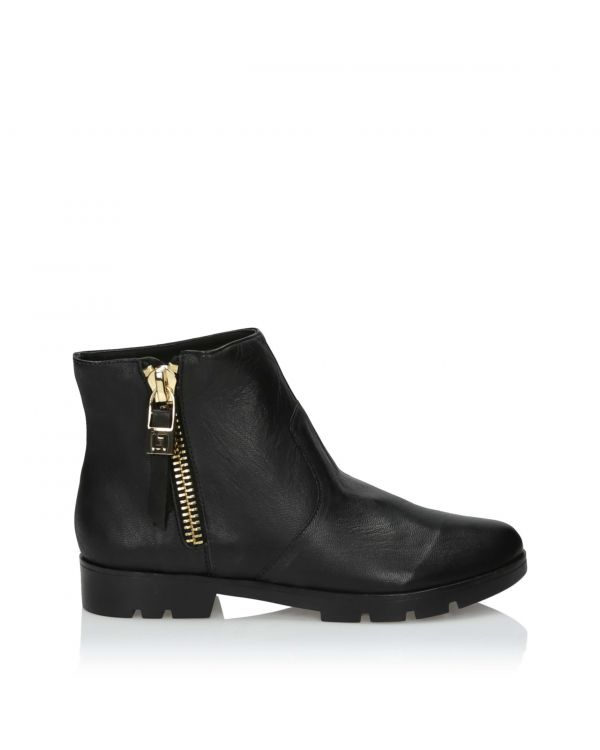 3i Black Ankle Boots - 11036 - 1