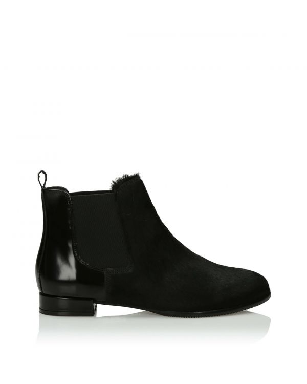 3i Black Ankle Boots - 11099 - 1