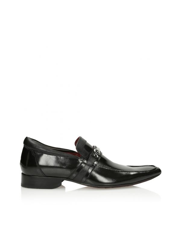 3i Black men's shoes - 09554 - 1
