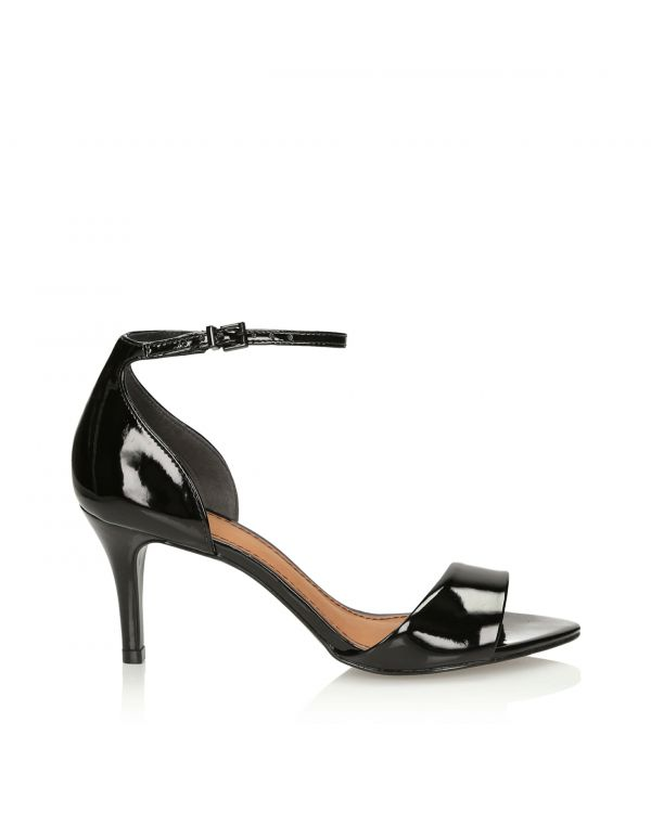 3i black patent leather sandals - 11313 - 1