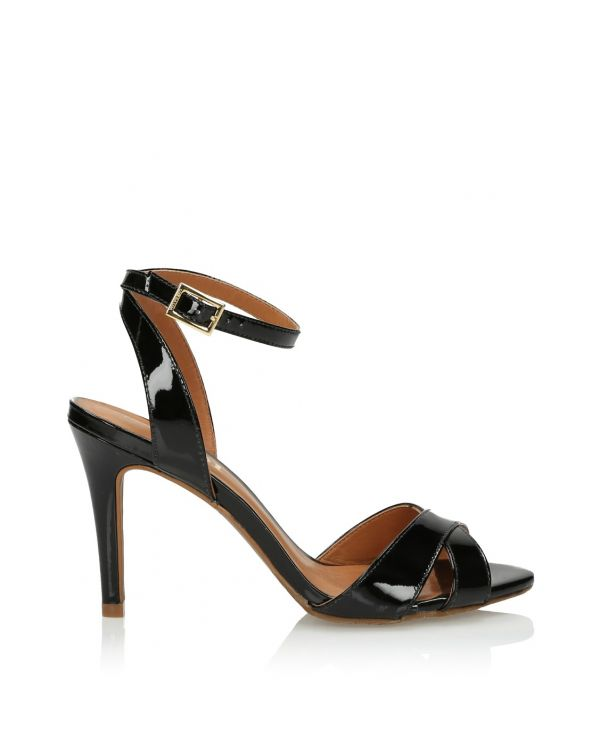 3i Black high heeled sandals - 11434 - 1