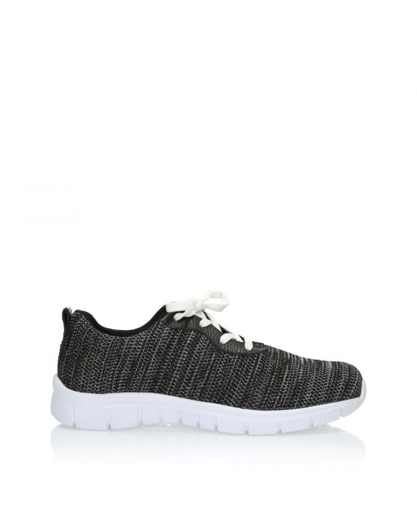 3i Black men's casual shoes - 11161  - 1