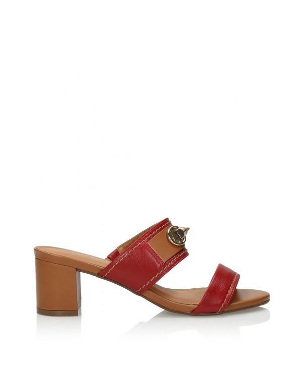 3i Red sandals - 08705 - 1