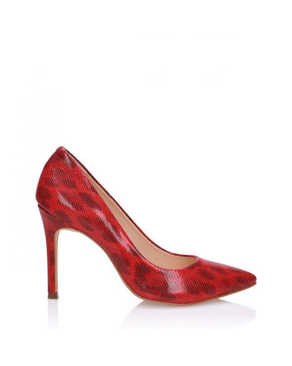 Czerwone czółenka damskie 3i - L404477054X09 Acerola - 1