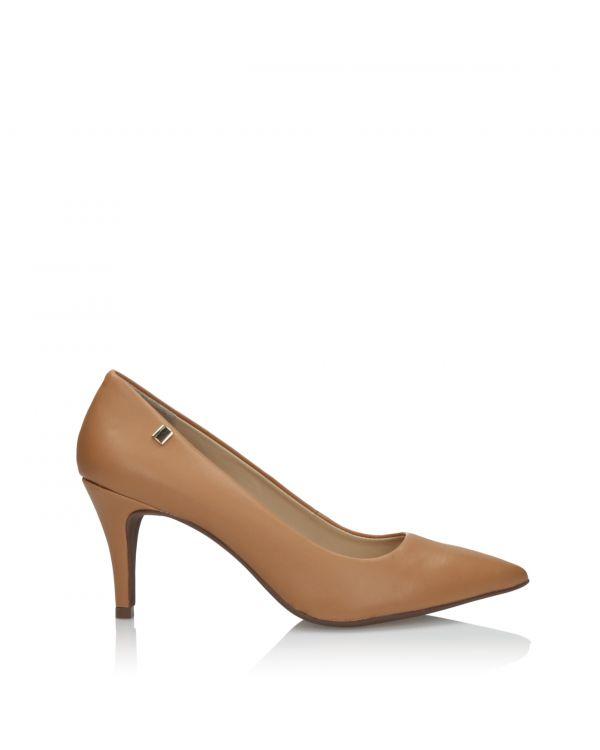 Klasyczne czółenka damskie 3i - L41159004X04 Brown - 1