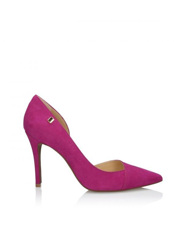 Womens pink high heels 3i - L41164011X011 Framboesa - 1