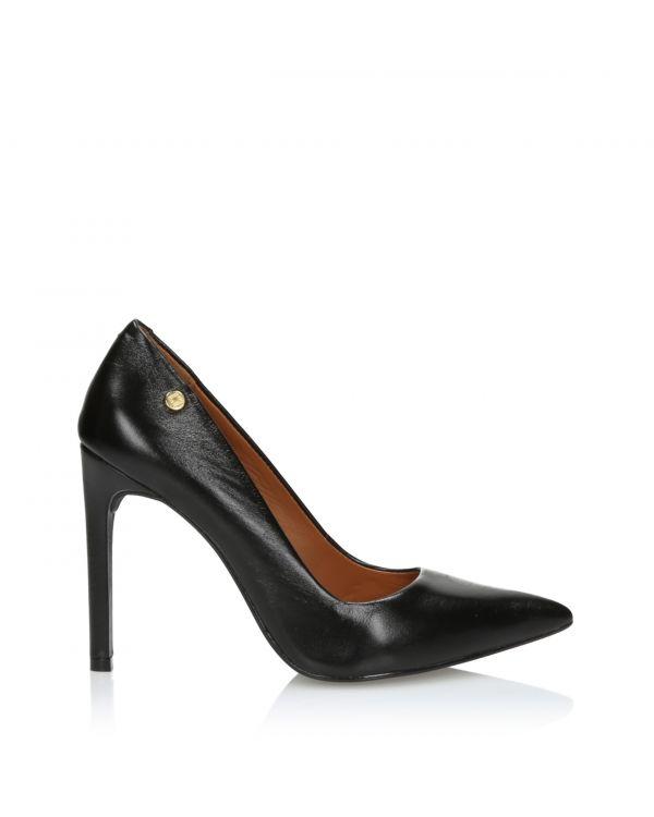 Klasyczne czarne czółenka damskie 3i - S45104l Preto - 1