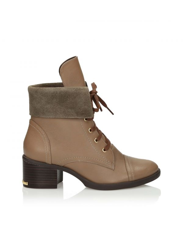 3i Light brown Ankle Boots - 11043 Taupe - 1