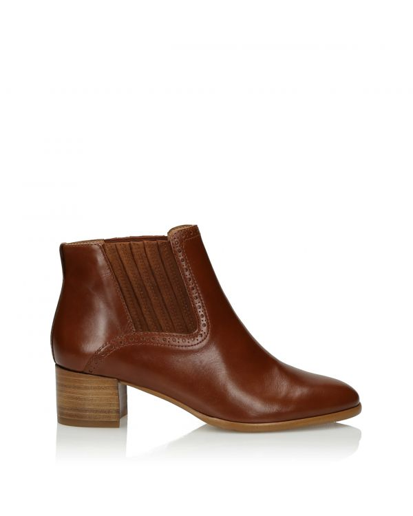 3i Brown Ankle Boots - 11108 - 1