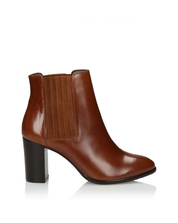 3i Brown Ankle Boots - 11109 - 1