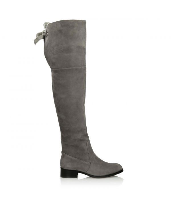 3i Grey long length boots - 2818-8 Grey - 1