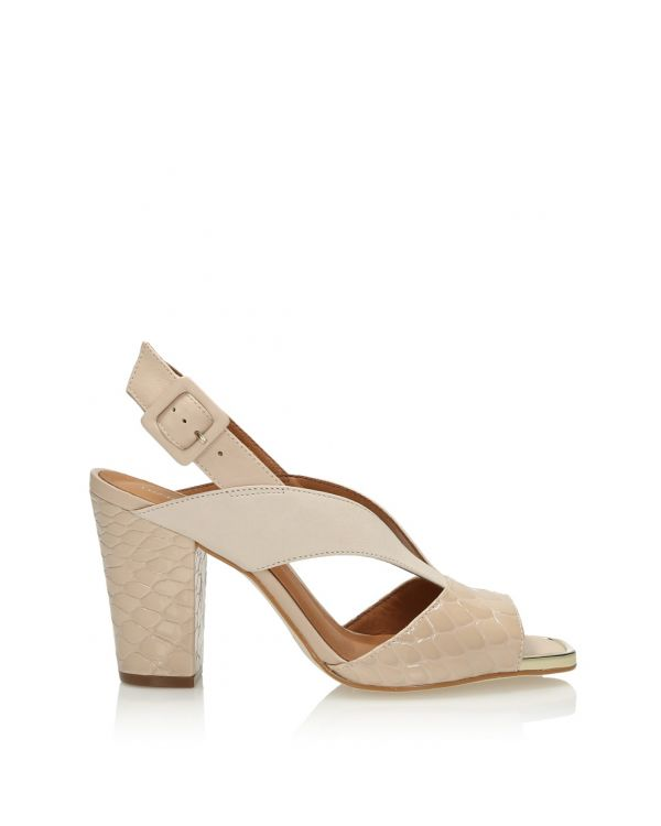 3i Nude high heeled sandals - 11387 - 1