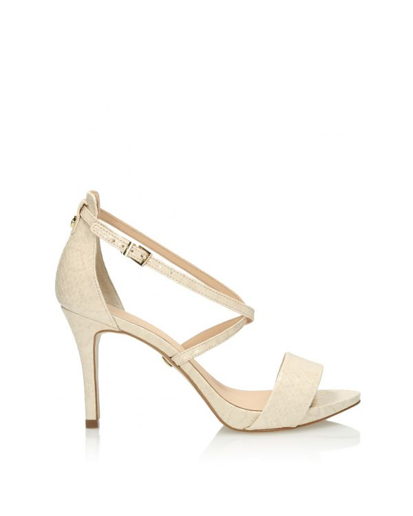 3i Nude high heeled sandals- 11399 - 1