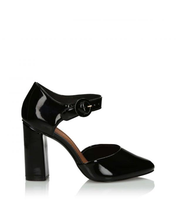 3i Black sandals- 10862 Preto - 1