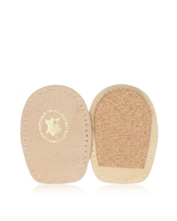 Leather heel pads for women's footwear - WK006 - 1