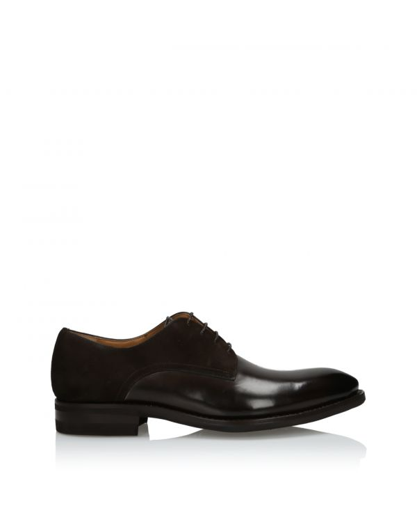 3i Chocolate brown men's shoes  - 15493 Brown 423 - 1