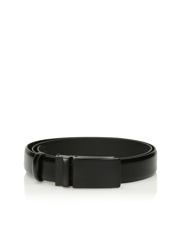 3i Black semi-automatic men's belt - 11422 - 1