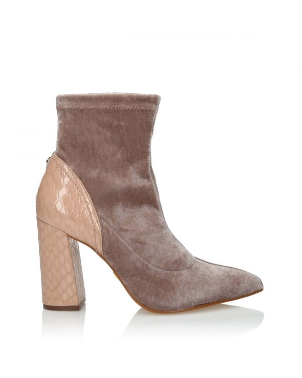 3i Pink Ankle Boots - 10997 Rose - 1