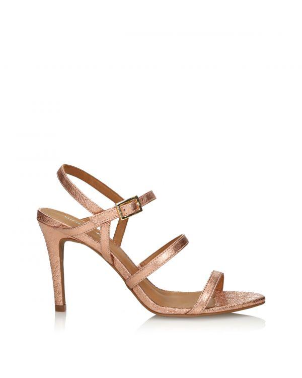 Różowo-złote sandały damskie 3i - 36823 Venus Rose - 1