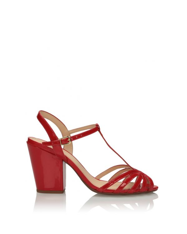 3i Red sandals - 11558 - 1
