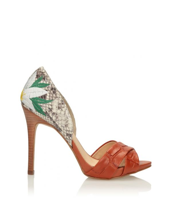 3i Multicolour high heeled sandals - 11566 - 1