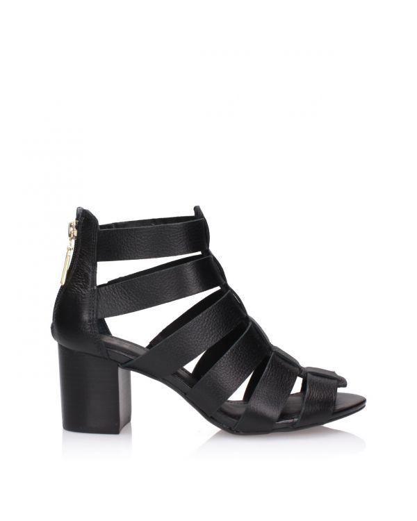 Czarne sandały 3i - L31046006X01 Preto - 1