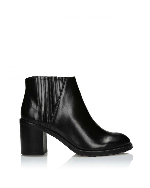 3i Black ankle boots - F660-01/03 Black - 1