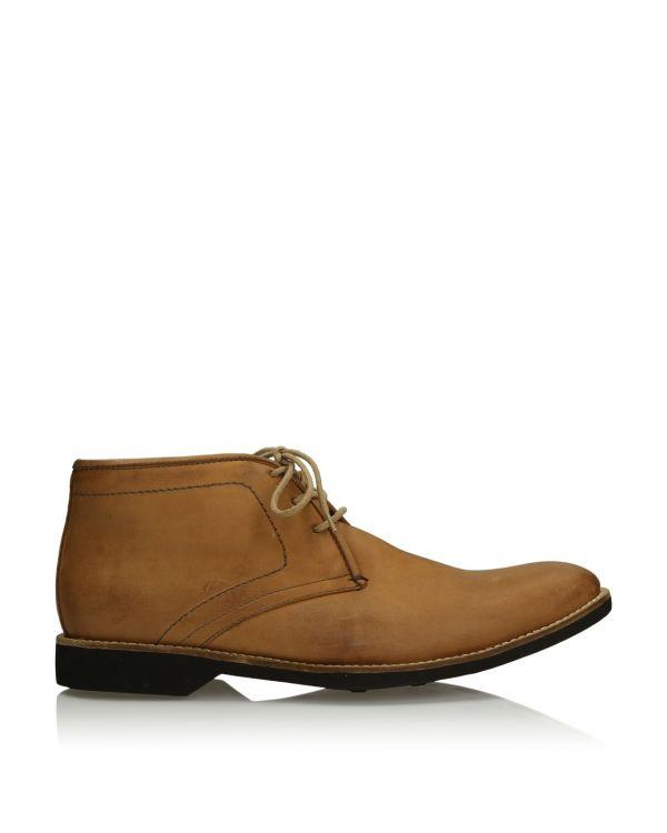 3i Light brown men's boots - 565603 Brown - 1