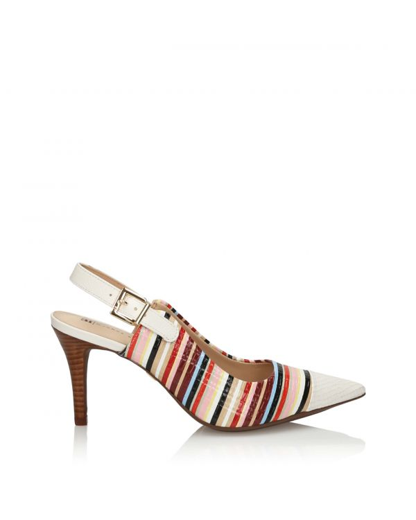 3i Multicolour high heeled sandals by Jorge Bischoff - 11154 - 1