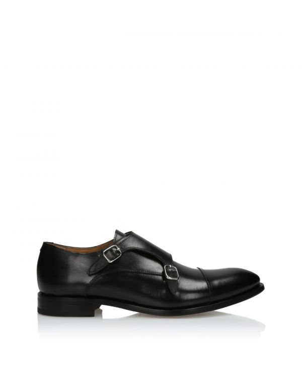 3i Black monk shoes - 15142 Black - 1