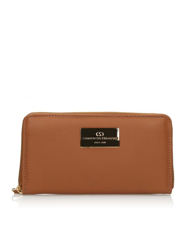3i Brown women`s purse - OTH-260 Caramelo - 1
