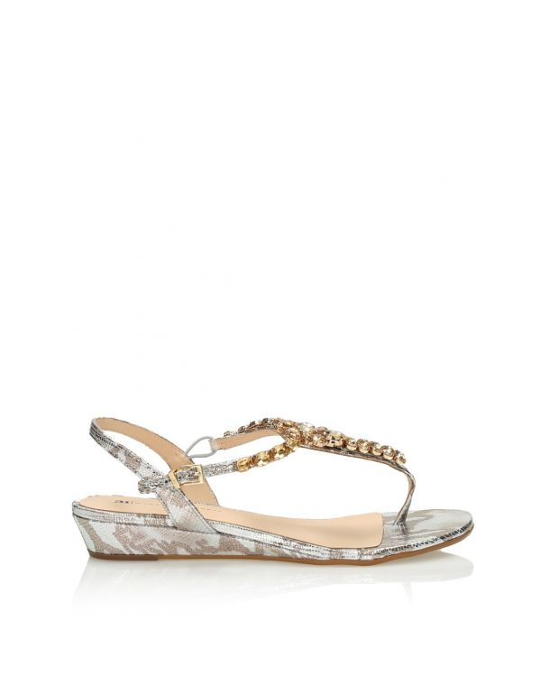 3i Silver sandals - 11400 - 1